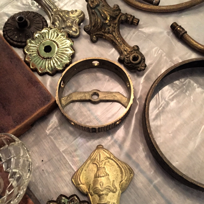 Impeccable D.I.Y.: How to create salvage art