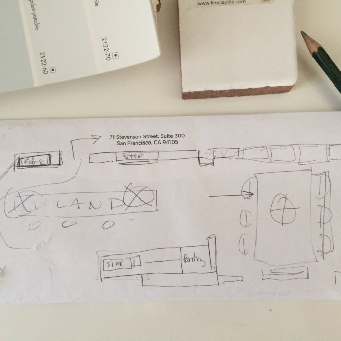 Our NEST: we finally have a kitchen layout design