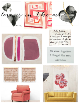 Mood Board Love Is In The Air.1