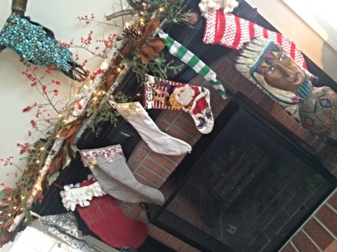 Our NEST: Christmas at our house.