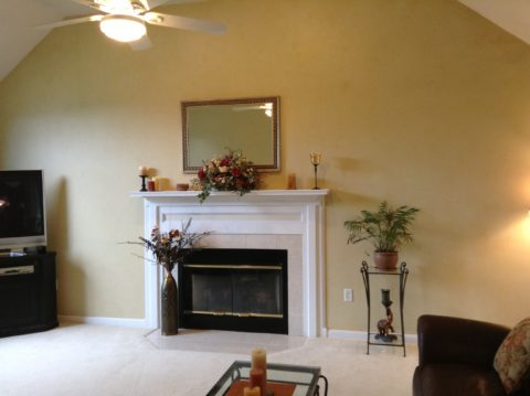 Mellow Yellow Family Room.1