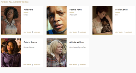 Our Oscar Picks.7
