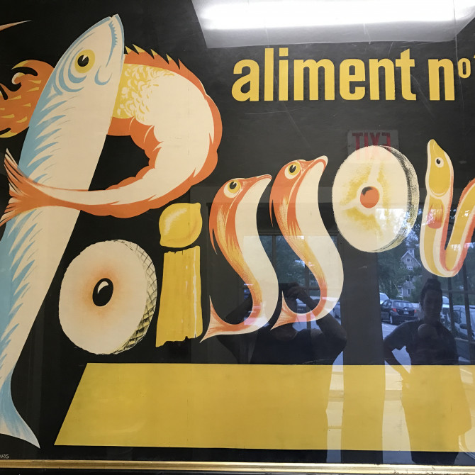 Vintage French Posters: say oui oui