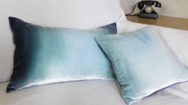 velvet ombré pillow