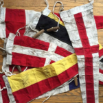 vintage nautical flag