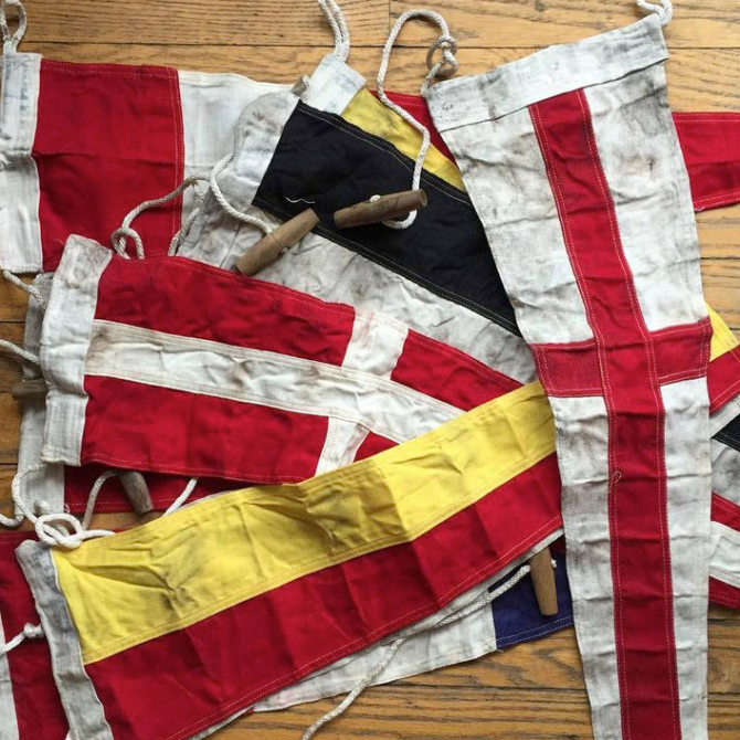Summer Obsession: Vintage Nautical Flags
