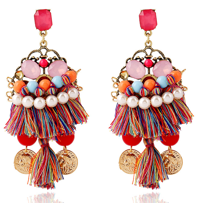 Tassel Earrings are this summer's must-have