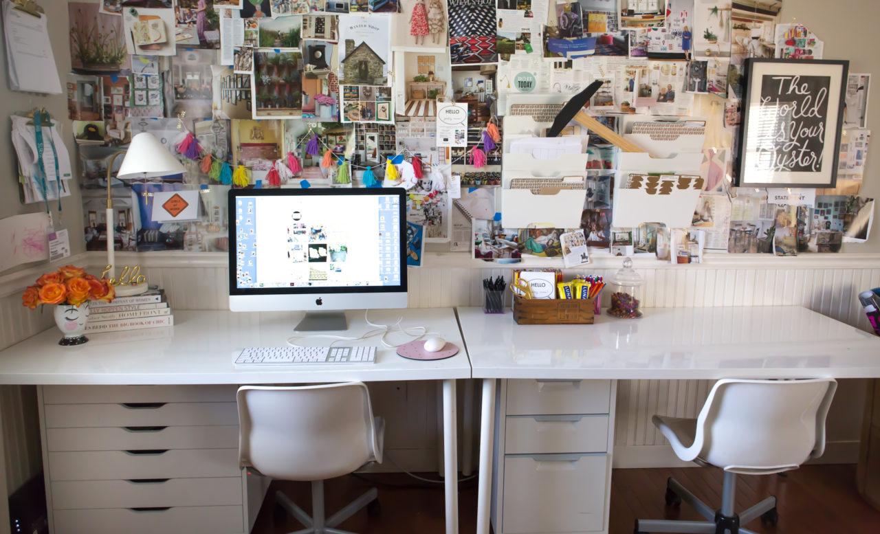 Impeccable Nest blogger office