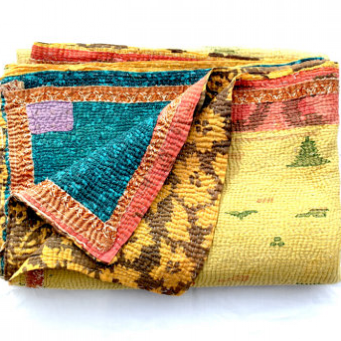Kantha Quilts: Handmade Collectibles For Good