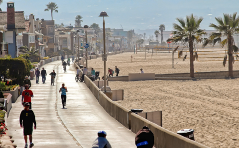 Manhattan Beach Bike Path