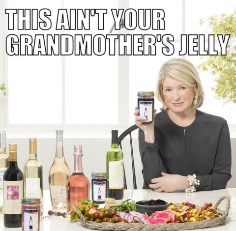 Martha Stewart Drunk Jelly