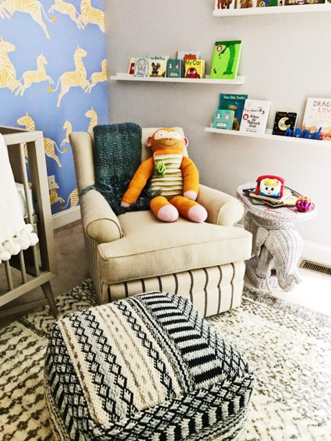 Elegant and Playful Nursery