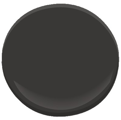 Benjamin Moore Black Beauty