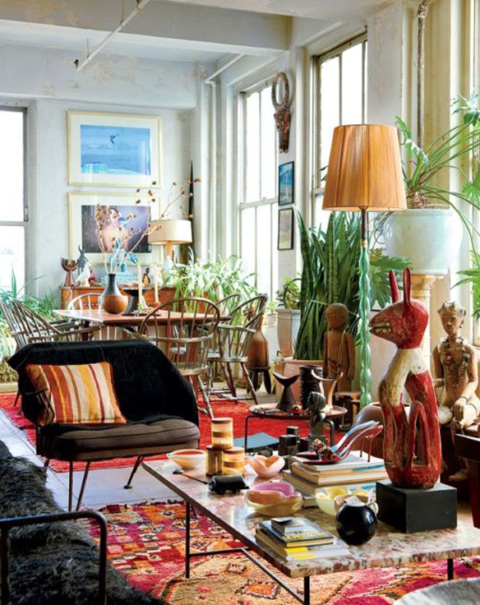 "6 tips to get that ""collected look"" in your home"