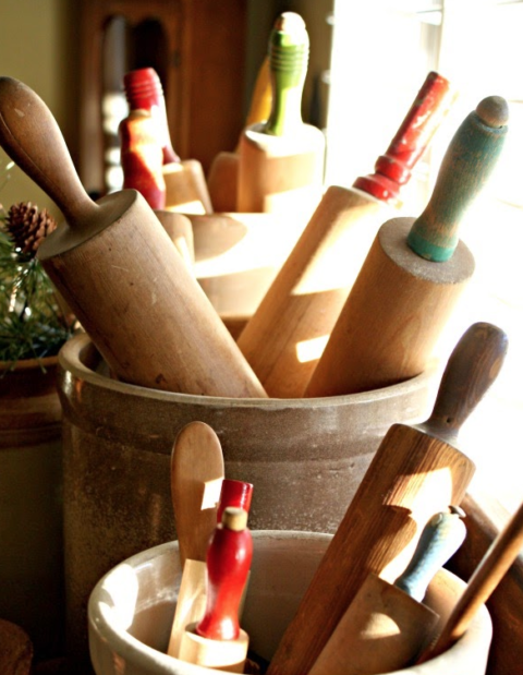Impeccable Finds: Decorating with Rolling pins