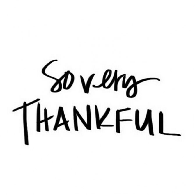 Live impeccably: Being Thankful