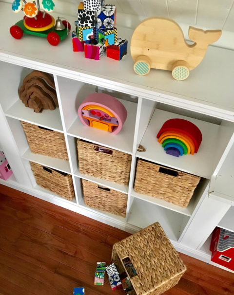 DIY: Playroom Storage Hack
