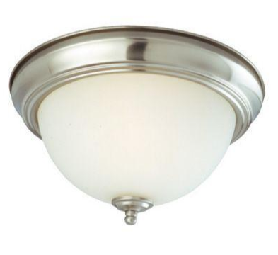 Finding a flush mount that isn't a boob light.