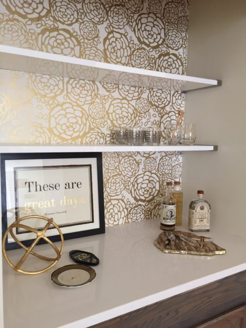 Impeccable DIY: Turn a coat closet into a cool hip bar