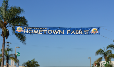 Impeccable Travel: It's October, so it must be Manhattan Beach Hometown Fair Weekend.