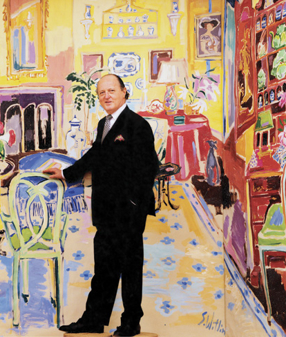 Remembering Mario Buatta, the Prince of Chintz