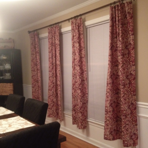 Don't buy Target curtains!