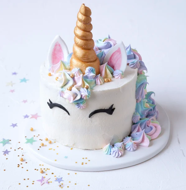 Rainbows Sprinkles Wonder Woman And Unicorn Cake