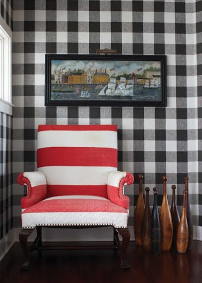 How to decorate with gingham