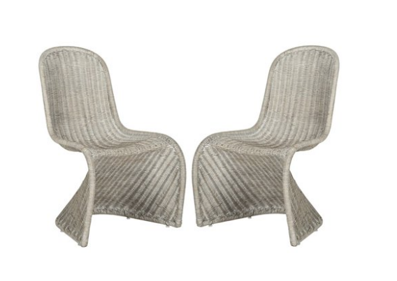 That's Impeccable! Stylish dining chairs from Walmart.