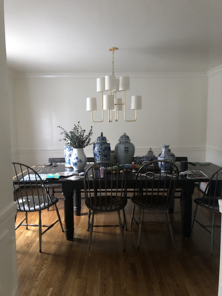 One Room Challenge Dining Room