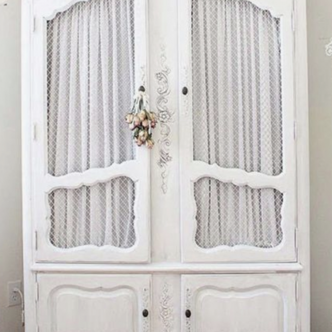 Easy Armoire Makeover