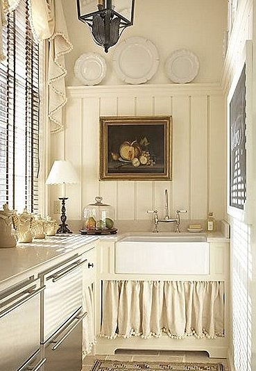 Kitchen Cabinet Curtain