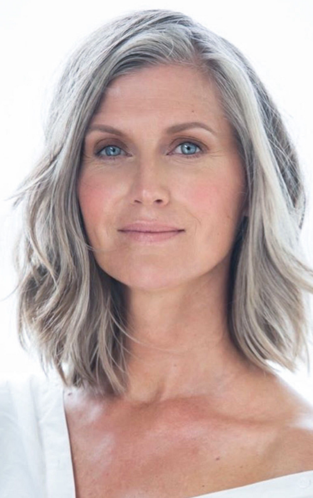 How to let your hair go gray.