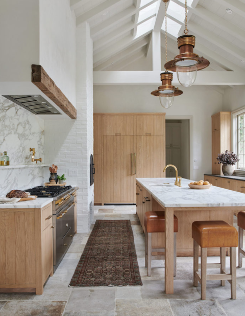 Mixing metals in kitchens