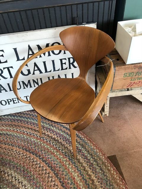 Flea Market Vintage Pretzel Chair