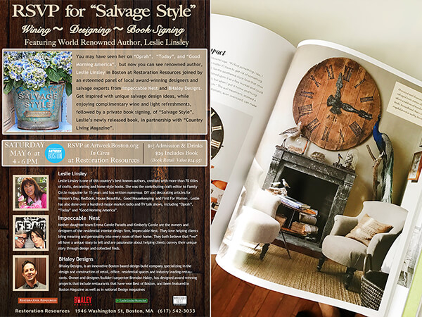 Salvage Style Event