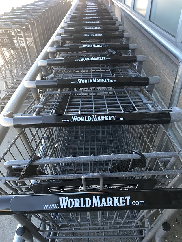 World Market Grocery Carts